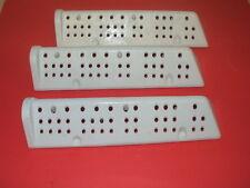 Original Hoover Lavadora Tambor Paleta Levantador 03870539 (juego de tres)