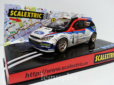 "Slot SCX Scalextric 6106 Ford Focus WRC ""Safari efecto barro"""