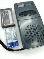 Sanyo TRC-3690 Mini Cassette Talk Book Voice Recorder Dictation Machine Handheld