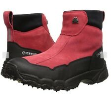 Icebug L BUGrip Women's Metro Studded Traction Winter Boots Apple Red Black Sz 6