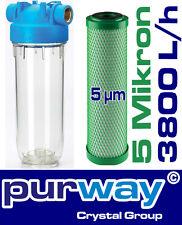 """DP1 PCB 5mcr 3800L/h 10"""" 3/4 Kaffeemaschinen Kalkfilter Chlorfilter Wasserfilter"""