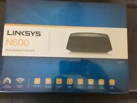 linksys n600 router Dual Band New In Package