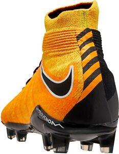 Nike JR Hypervenom Phantom III DF FG Soccer Cleats Laser Orange SZ 5.5 y Girls