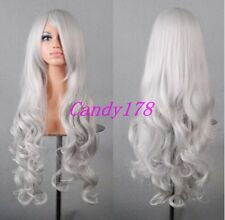 New Lolita Harajuku Wig Curly Wavy Long Hair Full Wigs Anime Cosplay Costume Wig