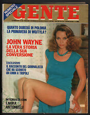 GENTE 26/1979  LAURA ANTONELLI DEMETRIO STRATOS PATTY PRAVO ANNA OXA BERTOLI