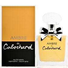 AMBRE DE CABOCHARD    Eau de toilette 100 ml    neuf     Parfums Grès
