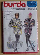 #) patron BURDA 5834 ensemble tricot femme