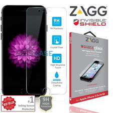 Tempered Glass Screen Protector Film For Apple iPhone SE (1st Gen) by ZAGG 9H 4