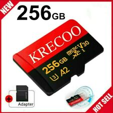 New 256GB Micro Memory SD Card 10 Fast 4K Flash TF Card with Adapter&Car&Camera