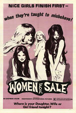 WOMEN FOR SALE Movie POSTER 27x40
