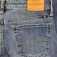 Lucky Brand Womens Sweet Boot Cut Stretch Mid Rise Jeans Size 6/28 29x31
