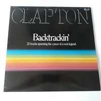 Clapton - Backtrackin' Vinyl LP Record Album 1991 Press EX+/NM