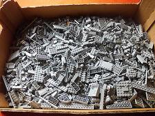 Lego 1 kg neu hellgrau light bluish gray Platten, Sonderteile Paket Sammlung