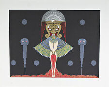 """""""Salome"""" by Erte Signed Artist's Proof AP Lithograph 22 1/2""""x27 1/2"""""""
