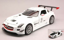 Mercedes SLS Amg Gt3 White 1:24 Model MOTORMAX