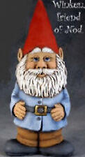 "Ceramic Bisque Ready to Paint  ""Winken"" Gnome"