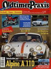 Oldtimer Praxis 2004 2/04 Alpine A 110 BMW 2500 BMW K 100 BSA WM 20 Daf 66 Appia