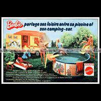 Mattel Vintage BARBIE Camping-Car - 1976 Pub / Publicité / Original Advert #B159