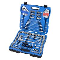"""Kincrome 165 Piece 1/4"""" 3/8"""" 1/2"""" Drive Metric and Imperial Socket Set"""