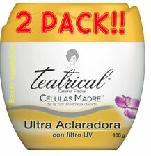 (2) Teatrical Celulas Madre Crema Aclaradora Mother Cells Brightening Cream 100g