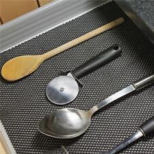 30*120cm Anti Non Slip Grip Mat Rug Kitchen Drawer Cupboard Underlay Liner FW