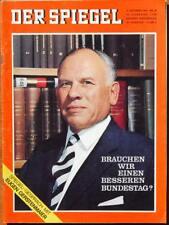 Der Spiegel 09/64 1964 September 54 Jahre Bundestag IBM Taunus 12M Opel Rekord
