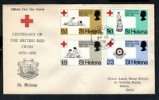 St Helena - 1970 Red Cross First Day Cover