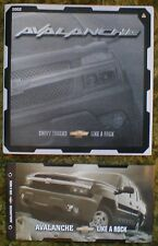 2002 Chevrolet Avalanche 2 Brochure lot 02