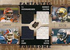 2009 Upper Deck SPx Fantastic Foursome Quad Jersey - #12/20