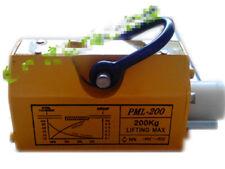 02t 200kg Portable Permanent Magnetic Lifter Crane Metal Lifting Tool