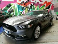 Ford Mustang Dual Racing Stripes Decal Vinyl Sticker Graphics Decoration Decal