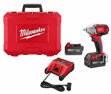"Milwaukee 2658-22 M18 18V Cordless 3/8"" Compact Impact Wrench Kit"