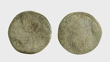 s542_13) Ancona. Sede Vacante 1555 I e II. Giulio. M.6. AG. Tondello ondulato