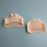 2x Soft Silicone Honeycomb Forefoot Pad Foot Versatile Use Reusable Pain Relief