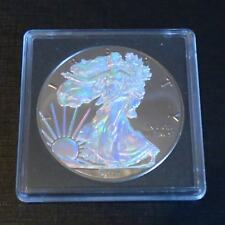 US 1 dollar Silver Eagle 2017 hologram ruthenium plated 1 oz silver 99.9%