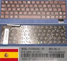Clavier Qwerty Espagnol ASUS Eee Pad Slider SL101, 0KNA-Z71SP01 V125862AK Bronze