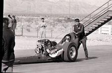 Front Engine Dragster - Kent Fuller Chassis - Vtg 35mm Drag Racing Negative