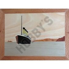 RMS Titanic: Traditional Marquetry Craft Kit plus DVD by Cove Workshop