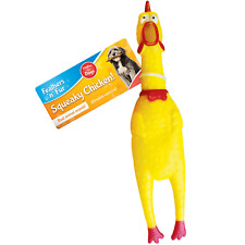 "10"" Screaming Squeaking Rubber Chicken Dog Toy Treat Toy Gift Chew Bulk"