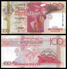 Seychelles 100 RUPEES ND 2001 P 40 UNC OFFER !