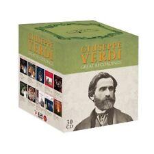 GIUSEPPE VERDI-GREAT RECORDINGS (30 CD)  GIUSEPPE VERDI/OPER  NEU