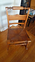 Heavy Vintage Sewing Rocker / Rocking Chair lovely FREE SHIPPING!!!