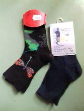 lot de 2 paires de socquettes enfants PERRIN ,1 fil d'écosse, 1: laine/coton