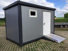 Sanitärcontainer Behinderten Toilette Handicap Toilettencontainer WC mit Rampe