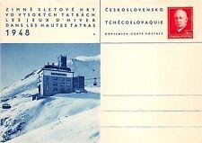 B22843 Zimne Sletove Hry Vo Vysokych Tatrach les Jeux d Hiver dans les Hautes