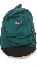 Vintage 1990s Classic Jansport Teal Green Backpack - Made In USA
