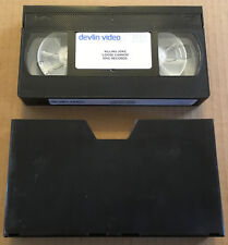 KILLING JOKE Loose Cannon USA PROMO VHS VIDEO for 2003 CD Never Played