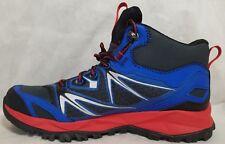 New Merrell Men's Size 9 Blue Red Capra Bolt Mid Waterproof Hiking Shoe Boot