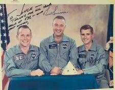 Apollo 1 Crew Signed 8 x 10 Photo