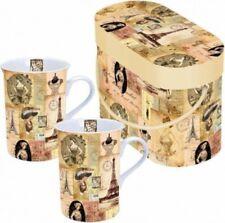 Collection Madame à Paris Set 2 mugs dans Boite cadeau Ambiente